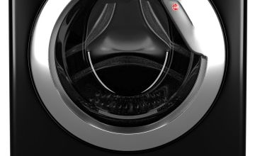 Hoover WDWOAD4106AHCB 10KG / 6KG Washer Dryer - Black
