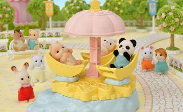 Sylvanian Families Baby Star Carousel Playset