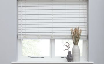 Argos Home Faux Wood Venetian Blind