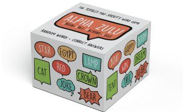 Shuffle Alpha Zulu Card Game
