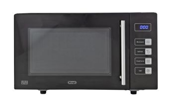 De'Longhi 800W Standard Microwave AM823 - Black