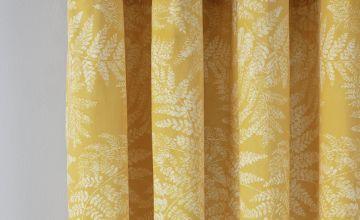 Argos Home Fern Leaf Lined Eyelet Curtains