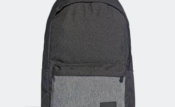 Adidas Linear Classic 24L Backpack - Black and White