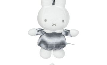 Miffy Stripe Musical Pull Down Toy