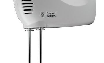 Russell Hobbs 25940 Go Create Electric Hand Mixer - White
