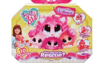 Scruff a Luvs Surprise Rescue Pet Soft Toy - Families