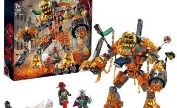 LEGO Marvel Spider-Man Molten Man Battle Toy - 76128