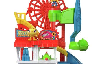Imaginext Toy Story 4 Carnival Playset with Woody