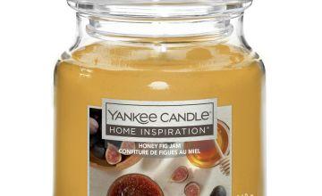Home Inspiration Medium Jar Candle - Honey, Fig & Jam