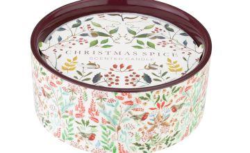 Argos Home Moorlands Ceramic 3 Wick Candle