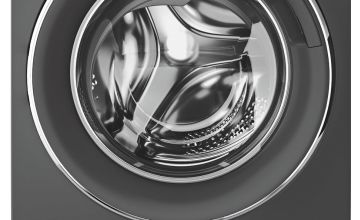 Candy Rapido RO16106DWHC7G 10KG Washing Machine - Graphite