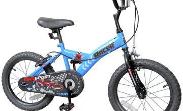Racer 16 inch Wheel Size Kids Bike