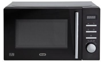 De'Longhi 800W Standard Microwave AM820C - Black