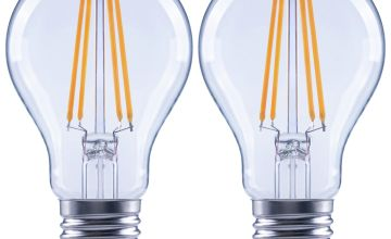 Argos Home 7W LED ES Dimmable Light Bulb - 2 Pack