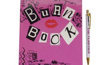 Mean Girls Burn Book Notebook & Pen Set