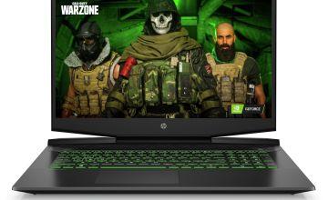 HP Pavilion 17.3in i5 8GB 1TB 512GB GTX1650Ti Gaming Laptop