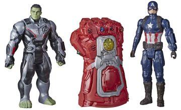 Marvel Avengers: Endgame Hulk Captain America Gauntlet
