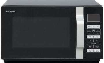 Sharp 900W Standard Microwave R360KM - Black
