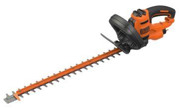 Black + Decker 55cm Corded Hedge Trimmer - 500W
