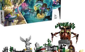 LEGO Hidden Side Graveyard Mystery Ghost AR Games Set- 70420