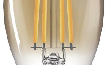 Philips LED Filament E14 5W (32W) Dim Candle Bulb - Gold