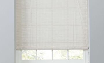 Argos Home Bamboo Roller Blind - White