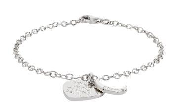 Moon & Back 'Love you to the Moon & Back' Mum Charm Bracelet