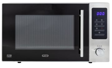 De'Longhi 900W Standard Microwave AM925 - Grey
