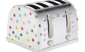 Emma Bridgewater & Russell Hobbs 21305 Toaster - Polka Dot