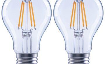 Argos Home 4W LED ES Light Bulb - 2 Pack