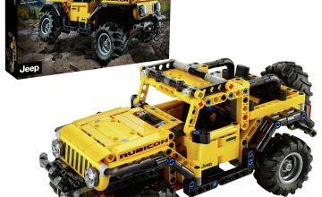 LEGO Technic Jeep Wrangler Rubicon Toy Car 42122