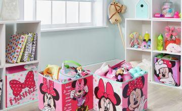 Disney Set of 4 Minnie Mouse Cubes