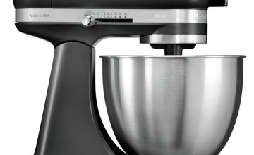 KitchenAid 5KSM3311XBBM Mini Food Stand Mixer - Black