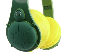 Adventure Is Out There Tortoise Headphones