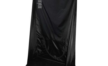MineTan Tan Curtain - Black & Clear