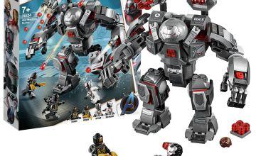 LEGO Marvel Avengers War Machine Buster Building Set - 76124