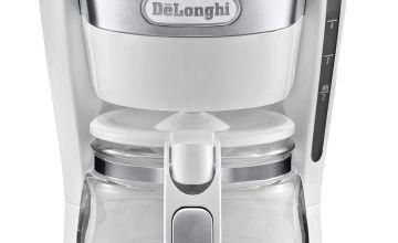 De'Longhi ICM14011.W Active Line Coffee Machine - White
