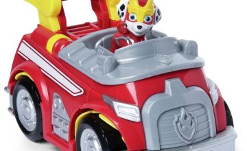 PAW Patrol Super Paws Marshall's Powered Up Vehicle