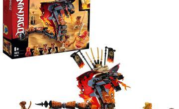 LEGO Ninjago Fire Fang Playset - 70674