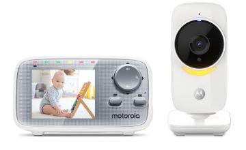 Motorola MBP 482 ANXL Nighlight Video 2.8 Inch Baby Monitor