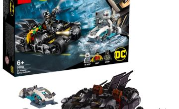 LEGO DC Batman Mr. Freeze Batcycle Battle Toy Bike - 76118