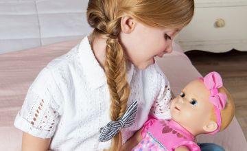 Luvabella Newborn Blonde Interactive Baby Doll