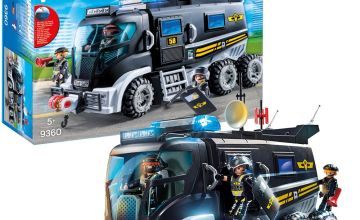 Playmobil 9360 City Action SWAT Truck