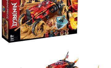 LEGO Ninjago Katana 4x4 Toy Car Building Set - 70675