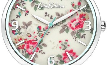 Cath Kidston Ladies Pink Leather Strap Watch