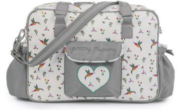 Pink Lining Yummy Mummy Changing Bag - Hummingbird