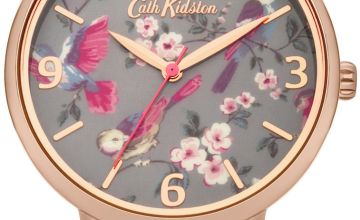 Cath Kidston Ladies Rose Gold Coloured Bracelet Watch
