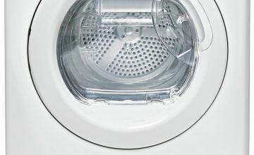 Candy CSH82LE 8KG Heat Pump Condenser Tumble Dryer - White