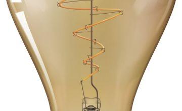 Philips LED Filament E27 6.5W (40W) Dim Giant Bulb - Gold