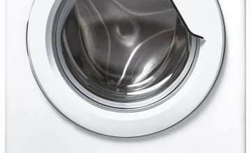 Hoover HBWS 48D1E 8KG Integrated Washing Machine - White